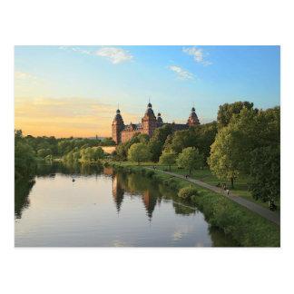Germany, Aschaffenburg, Schloss (castle) Postcard