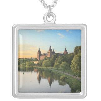 Germany, Aschaffenburg, Schloss (castle) Square Pendant Necklace