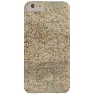 Germany Atlas Map Barely There iPhone 6 Plus Case
