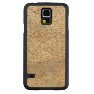 Germany Atlas Map Carved® Maple Galaxy S5 Case
