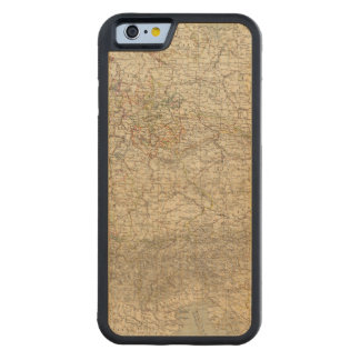 Germany Atlas Map Carved® Maple iPhone 6 Bumper Case