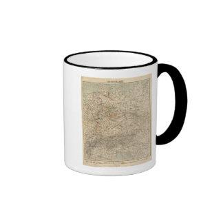 Germany Atlas Map Coffee Mug