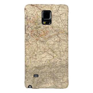 Germany Atlas Map Galaxy Note 4 Case