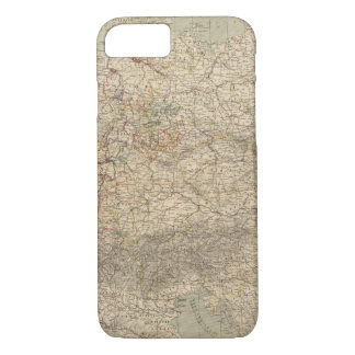 Germany Atlas Map iPhone 7 Case