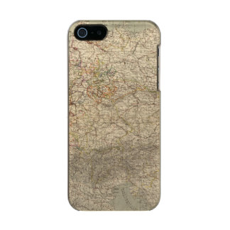 Germany Atlas Map Metallic Phone Case For iPhone SE/5/5s