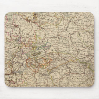 Germany Atlas Map Mouse Pad