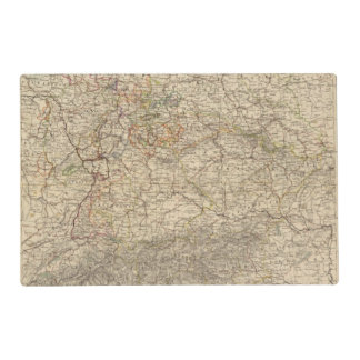 Germany Atlas Map Placemat