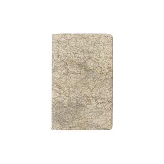 Germany Atlas Map Pocket Moleskine Notebook