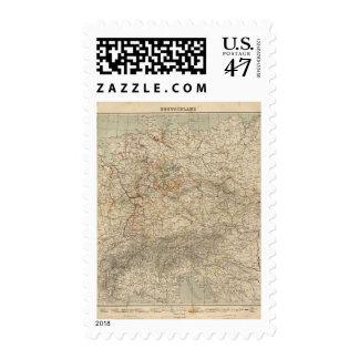 Germany Atlas Map Postage