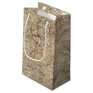 Germany Atlas Map Small Gift Bag