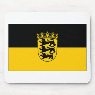 Germany Baden Wurttemberg Flag Mouse Pad
