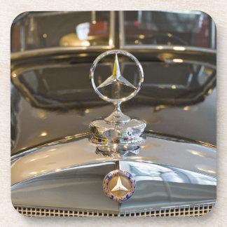 Germany, Baden-Wurttemberg, Stuttgart. Mercedes Beverage Coaster