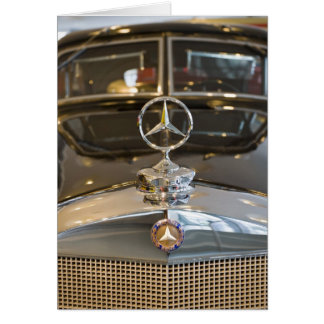 Mercedes benz greeting cards zazzle for Mercedes benz card
