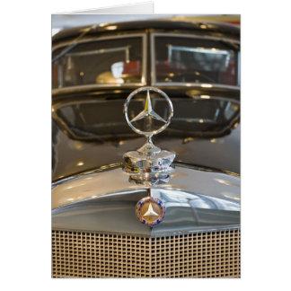 Germany, Baden-Wurttemberg, Stuttgart. Mercedes Greeting Card