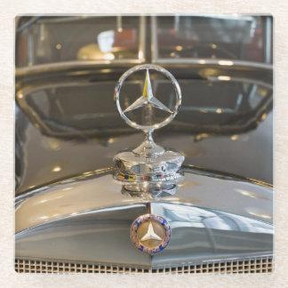 Germany, Baden-Wurttemberg, Stuttgart. Mercedes Glass Coaster