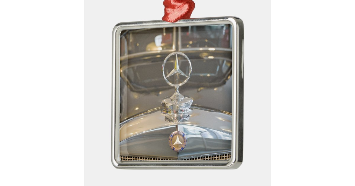 Germany baden wurttemberg stuttgart mercedes metal for Mercedes benz christmas ornament