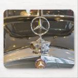 "Germany, Baden-Wurttemberg, Stuttgart. Mercedes Mouse Pad<br><div class=""desc"">COPYRIGHT Walter Bibikow / DanitaDelimont.com | EU10 WBI0330.jpg | Germany,  Baden-Wurttemberg,  Stuttgart. Mercedes Benz Museum,  detail of Mercedes star hood ornament.</div>"