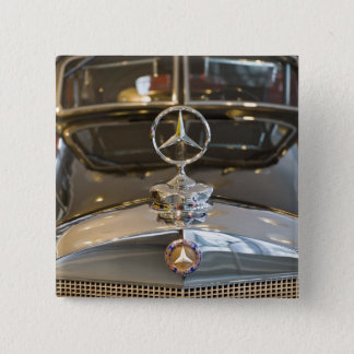 Germany, Baden-Wurttemberg, Stuttgart. Mercedes Pinback Button