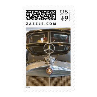 Germany, Baden-Wurttemberg, Stuttgart. Mercedes Postage Stamp