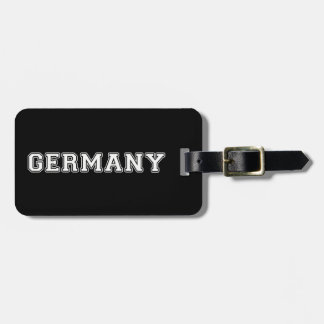 Germany Bag Tag