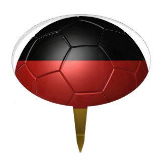 Germany ball cake topper