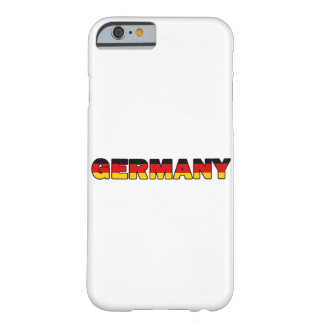 Germany Barely There iPhone 6 Case