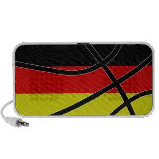 Germany Basketball Doodle Speaker