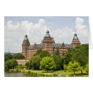 Germany, Bavaria, Bayern, Aschaffenburg. Schloss Card