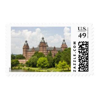 Germany, Bavaria, Bayern, Aschaffenburg. Schloss Postage