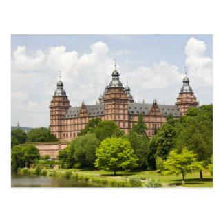 Germany, Bavaria, Bayern, Aschaffenburg. Schloss Postcard