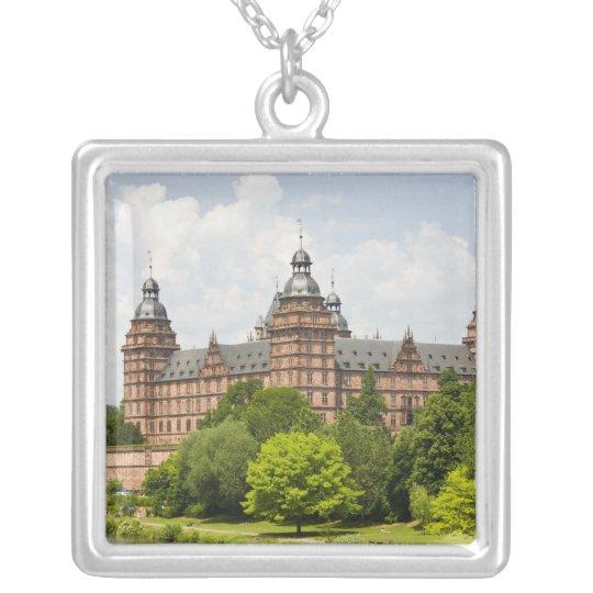 Germany, Bavaria, Bayern, Aschaffenburg. Schloss Silver Plated Necklace