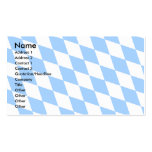 Germany Bavaria Flag Double-Sided Standard Business Cards (Pack Of 100)