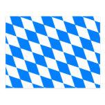 Germany Bavaria Flag Postcard