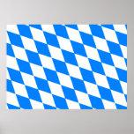 Germany Bavaria Flag Posters
