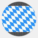 Germany Bavaria Flag Stickers