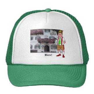 Germany, Bavaria;  German beer, village inn Hats