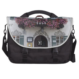 Germany, Bavaria;  German beer, village inn Laptop Messenger Bag
