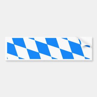 Germany Bavaria High quality Flag Bumper Sticker