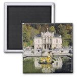 Germany, Bavaria, Linderhof Castle. Linderhof 2 Inch Square Magnet