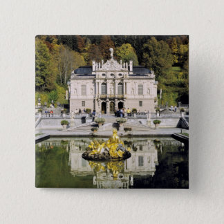 Germany, Bavaria, Linderhof Castle. Linderhof Button