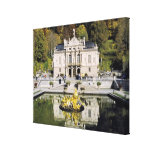 Germany, Bavaria, Linderhof Castle. Linderhof Canvas Print