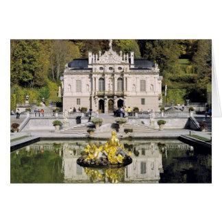 Germany, Bavaria, Linderhof Castle. Linderhof Card