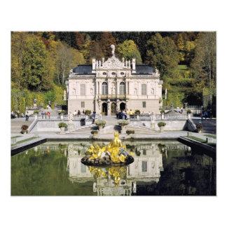 Germany, Bavaria, Linderhof Castle. Linderhof Photo Print