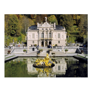 Germany, Bavaria, Linderhof Castle. Linderhof Postcard