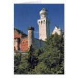 Germany, Bavaria, Neuschwanstein Castle. Card