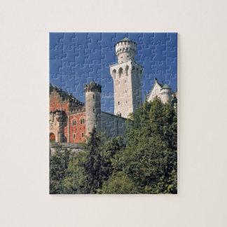 Germany, Bavaria, Neuschwanstein Castle. Jigsaw Puzzle