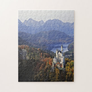 Germany, Bavaria, Neuschwanstein Castle. Jigsaw Puzzle