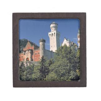 Germany, Bavaria, Neuschwanstein Castle. Keepsake Box