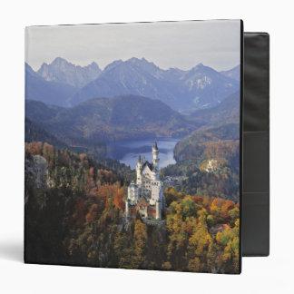Germany, Bavaria, Neuschwanstein Castle. King 3 Ring Binder