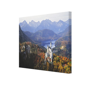 Germany, Bavaria, Neuschwanstein Castle. King Canvas Print